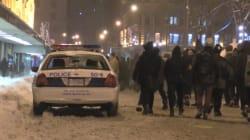 Manif contre la brutalité policière à Montréal: des méfaits selon le