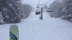 Pour les skieurs la tempête de mercredi n'apportait pas que des
