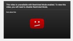 YouTube corrige son «mode restreint» après avoir bloqué des vidéos
