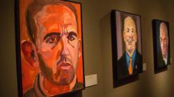 Un livre de portraits peints par George W. Bush en tête des