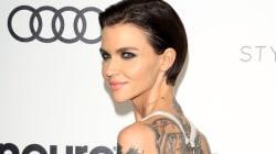 Ruby Rose se débarrasse de ses tatouages pour le bien de sa