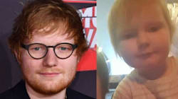 2-Year-Old Baby 'Looks More Like Ed Sheeran Than Ed