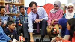Voici les souliers neufs du ministre fédéral des