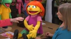 セサミストリートに、自閉症のキャラクターが加わるよ。どんな子?