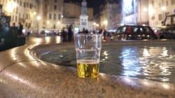 Led a Sant'Angelo e parcheggio selvaggio in piazza Farnese. Un sabato sera
