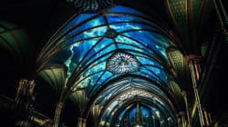 «Aura»: la Basilique Notre-Dame prend