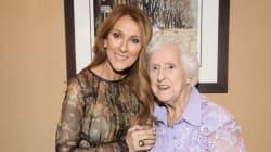 Céline Dion partage une photo de sa famille, réunie pour les 90 ans de sa