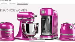 Les appareils roses de KitchenAid jugés