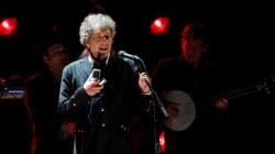 Bob Dylan en spectacle à Montréal en
