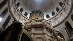 Le tombeau du Christ rénové est