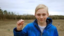 Un ado découvre un diamant de 7,44 carats dans un parc de