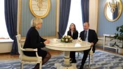 Vladimir Poutine reçoit Marine Le