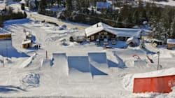 Un centre d'entrainement haute performance slopestyle unique en Amérique du Nord à