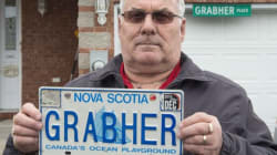 Battle Over 'Grabher' Licence Plate Headed To Nova Scotia