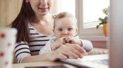 Va al colloquio di lavoro con il neonato di 3 mesi in braccio e viene