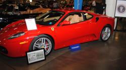 Une ancienne Ferrari de Donald Trump pourrait vous