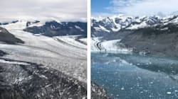 Glaciers Melt Away In Dramatic Before-And-After
