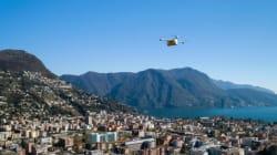 スイスで血液サンプルの病院間搬送にドローン飛行が認められた...交通渋滞の悩み解消