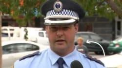Ce policier n'a pas du tout apprécié d'être interrompu alors qu'il répondait aux