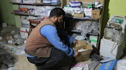 Horrifying Video Shows The Moment An Airstrike Hit A Syrian