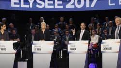 Présidentielle française: débat animé des