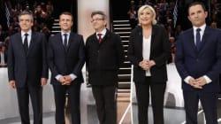 Présidentielle française: Macron et Le Pen en tête à égalité au 1er