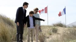 Trudeau Visits Site Of Iconic Moment In Second World