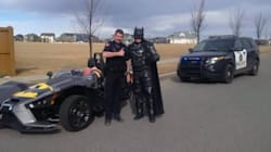 Calgary Police Pulled Over This Familiar-Looking