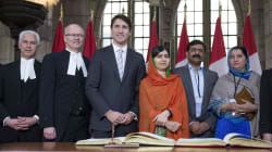 It's Official: Malala Yousafzai Is An Honorary Canadian