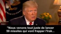 Quand Trump se souvient mieux de ce qu'il mange que des pays qu'il