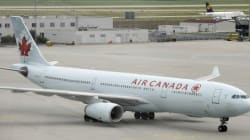 Air Canada Plane's Wheel Came Off Before Takeoff From
