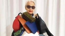 Ernestine Stollberg devient une star mode d'Instagram à 95