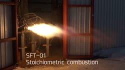 ロケットの軌道投入に向けて燃焼試験 炎の迫力が伝わる360°動画も公開 ―