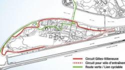 Le circuit Gilles-Villeneuve fermé aux cyclistes et aux piétons pour