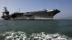 La Corée du Nord menace de couler un porte-avions