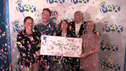 Un couple de Montréal remporte le gros lot de 55 M $ au Lotto