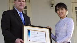 Baird Makes Freedom Fighter Suu Kyi A Canadian Amid Election