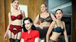 Dita von Teese Lingerie: Star Shows Off Super Sexy New Line