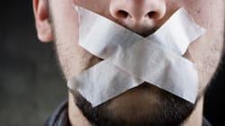 Une liberté d'expression qui se ratatine comme une peau de