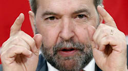 Cannabis: Mulcair accuse Trudeau d'«hypocrisie