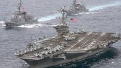 カールビンソン率いる空母打撃群、北朝鮮を攻撃できる射程内に ハリス司令官明かす