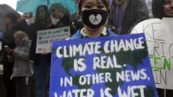 Vaste marche pour le climat et anti-Trump à
