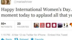 Celebs Tweet On International Women's
