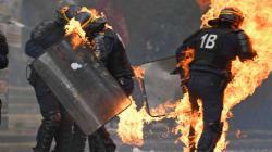 Des policiers blessés lors de la manifestation du 1er mai à
