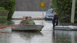 Les inondations atteignent l'ouest de