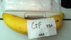 Il demande un repas sans gluten dans l'avion, on lui sert une