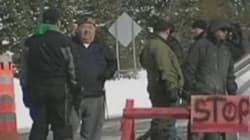 Côte-Nord : la police démantèle la barricade sur la