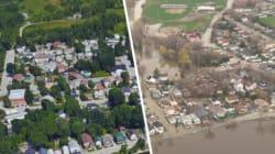 Inondations: voyez les photos avant /
