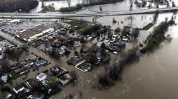 Les inondations au Québec en