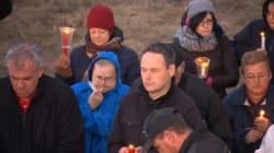 Veillée au flambeau pour les disparus de la rivière